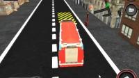消防车停靠灭火游戏展示1