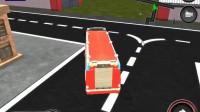 消防车停靠灭火游戏展示5