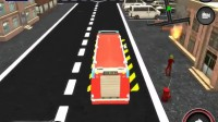 消防车停靠灭火游戏展示4