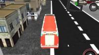 消防车停靠灭火游戏展示6