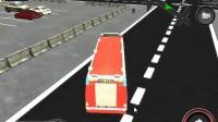 消防车停靠灭火游戏展示8