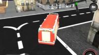 消防车停靠灭火游戏展示7