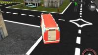 消防车停靠灭火游戏展示10