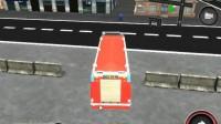 消防车停靠灭火游戏展示11