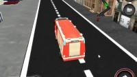 消防车停靠灭火游戏展示12