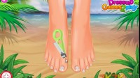 海边美足沙龙游戏展示