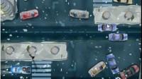 雪夜皮卡停车展示视频5