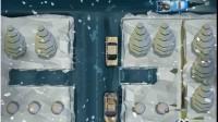 雪夜皮卡停车展示视频6