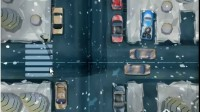 雪夜皮卡停车展示视频7