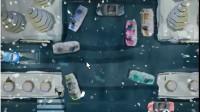 雪夜皮卡停车展示视频8
