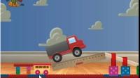玩具卡车运货展示视频1