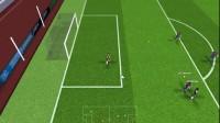 英格兰世界足球联赛游戏展示