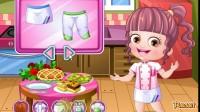 可爱宝贝厨师装扮游戏展示