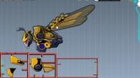 拼装大黄蜂机器人游戏展示1