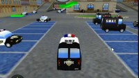 警察局停车大赛游戏展示