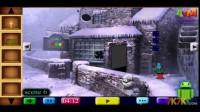 雪中老房子逃脱通过攻略